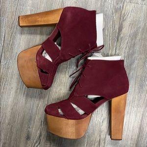Jeffrey Campbell ford cutout platform heels